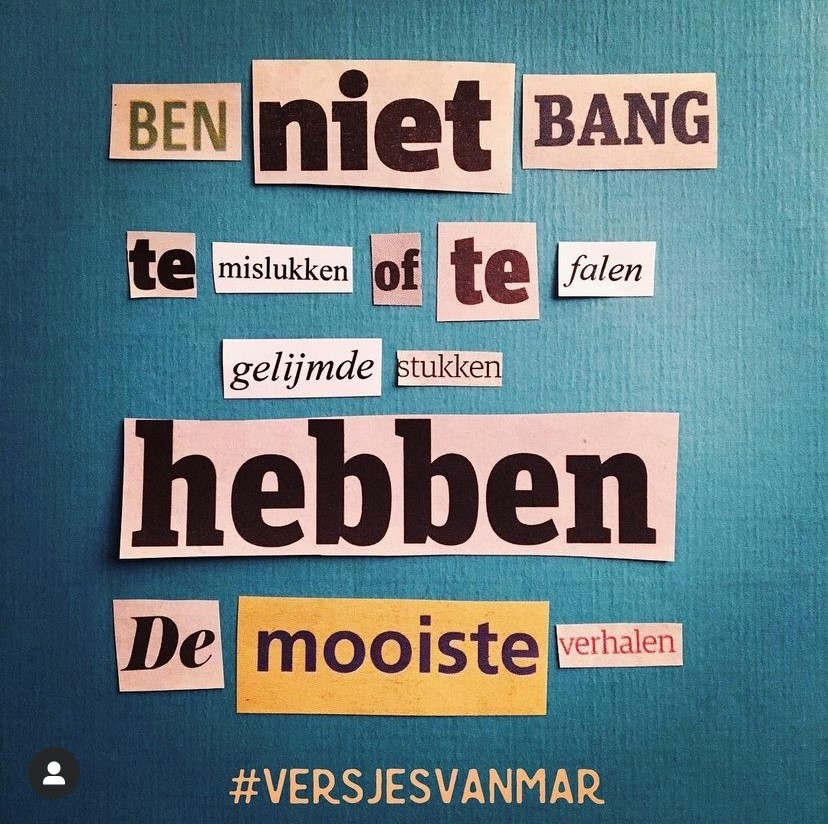 Quote 19 | @versjesvanmar